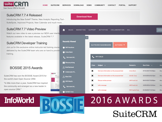 SuiteCRM BOSSIE Awards 2016