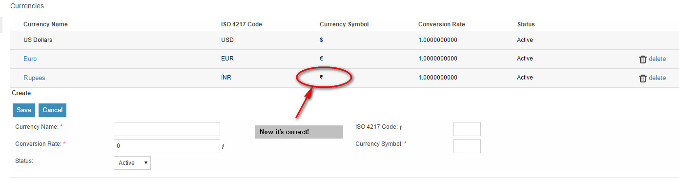 Suitecrm Crm For The World Unable To Change Indian Rupee