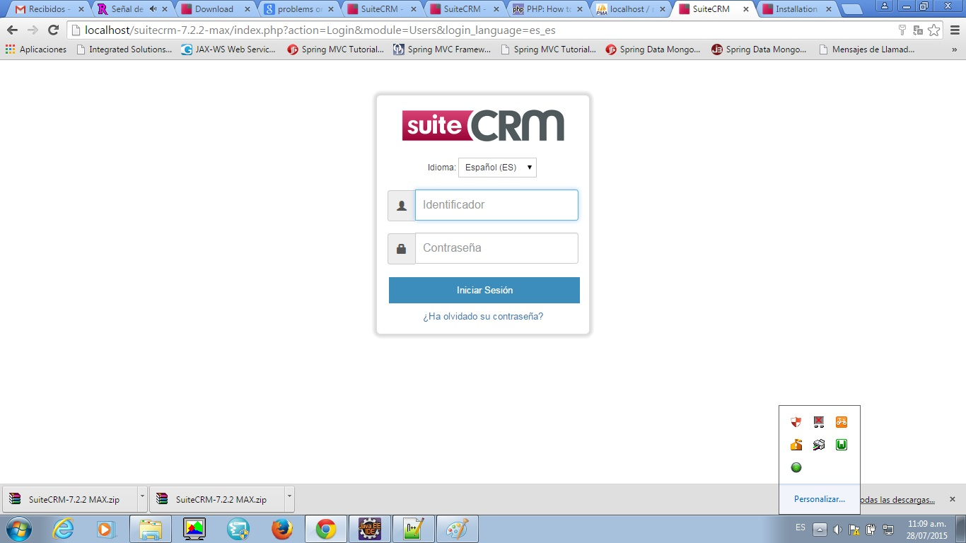 Suitecrm crm for the world error on installation of suitecrm succesg 134kb baditri Gallery