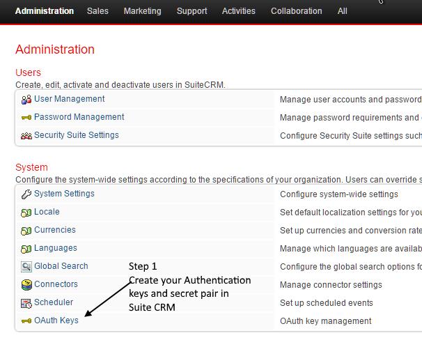 SuiteCRM Forums: Mautic Integration (Mautic 1 2 4 and SuiteCRM 7 5 1