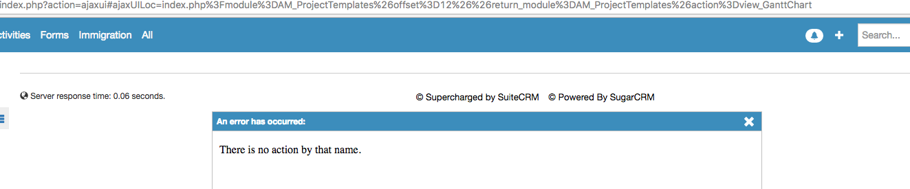 SuiteCRM Forums: How to change URL Parameters from module (1/1)