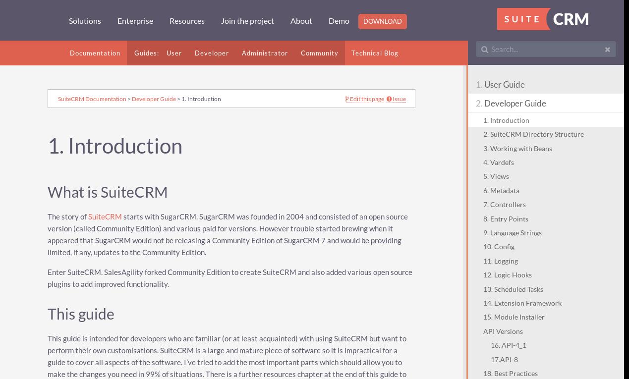 Crm Documentation