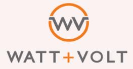Watt + Volt Logo
